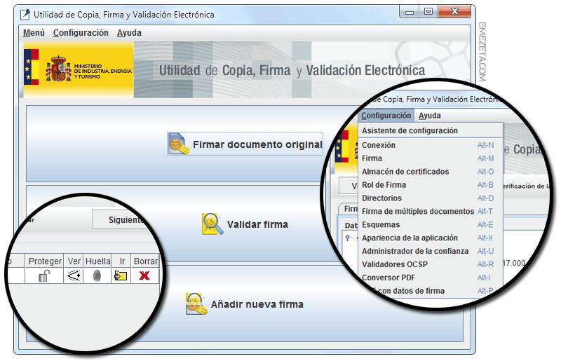 Programas gratis para firmar PDF: EcoFirma