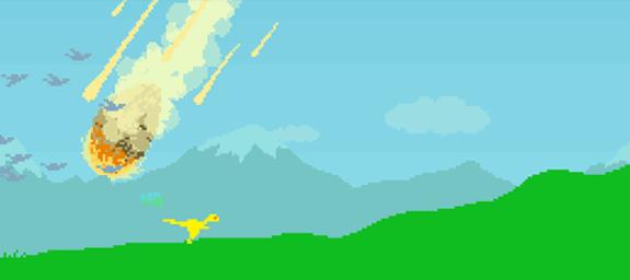 dino run flash juego game