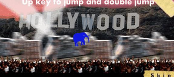 run elephant run flash juego game
