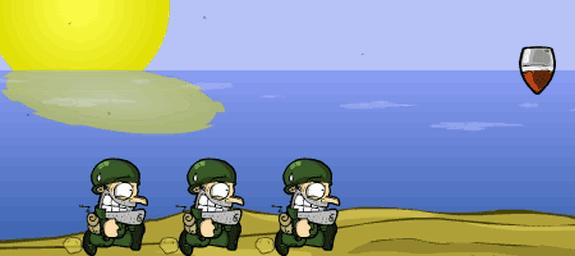 run soldier run flash juego game