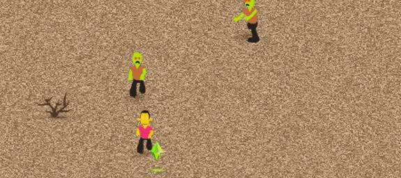 zombie run flash juego game