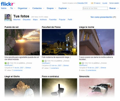 flickr fotolog fotos fotografías