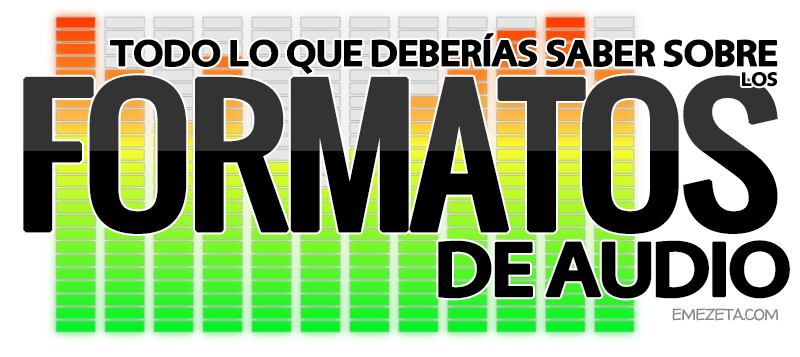 Formatos de audio: MP3, WAV, OGG, AC3, WMA, OGG, ACC, MPC, FLAC...