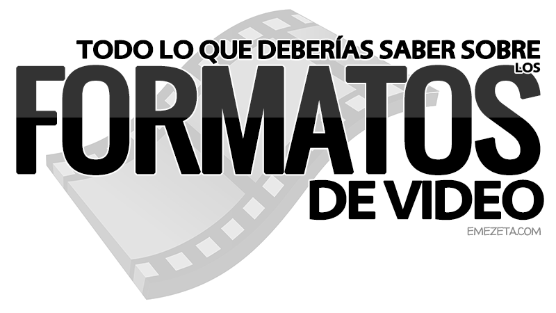 Guía para convertir formatos de video