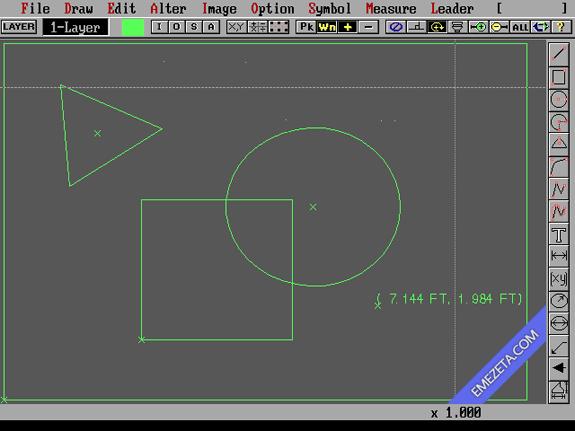 Formatos antiguos: DraftChoice v2.15 para DOS