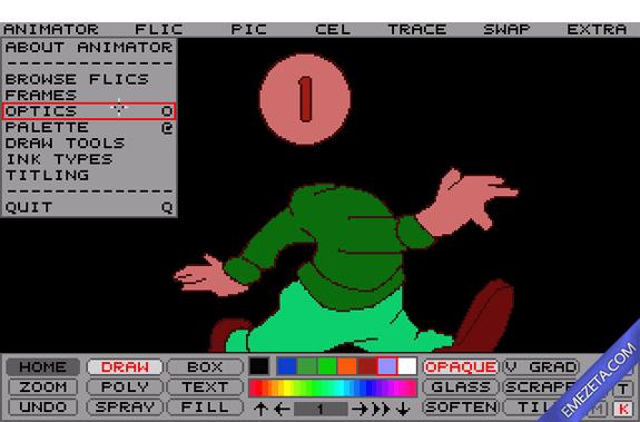 Formatos antiguos: Autodesk Animator