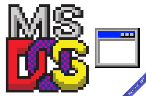 Formatos antiguos: Comando ejecutable de MSDOS