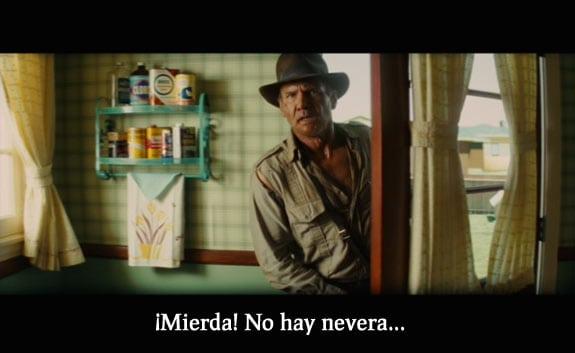 Frases de película: Indiana Jones y el reino de la calavera de cristal