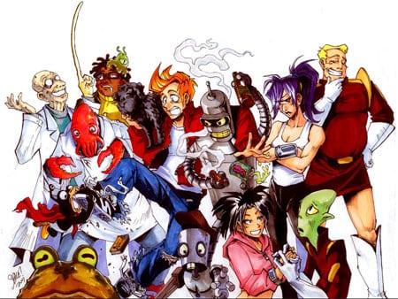 futurama anime manga