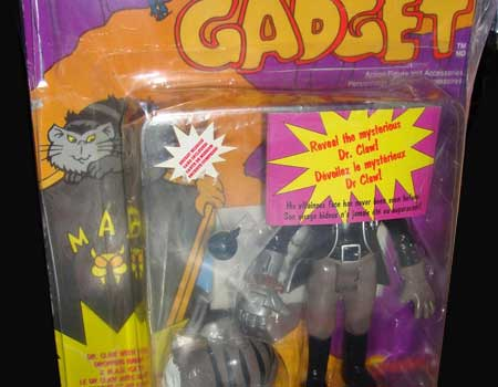 inspector gadget gang figura paquete