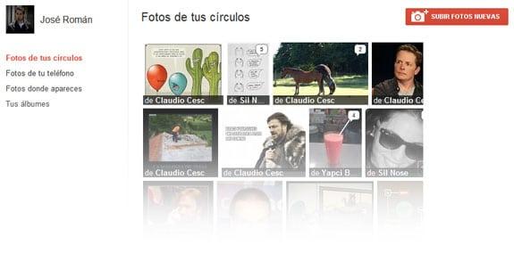 Google Plus (Google+): Picasa. Fotografías o imágenes en Google+.