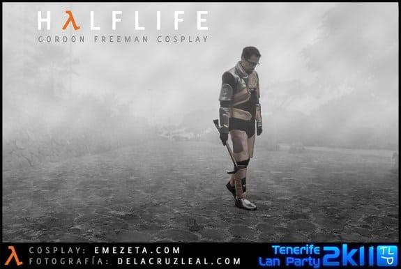 HL-GFC: Cosplay del personaje Gordon Freeman (Half-life)