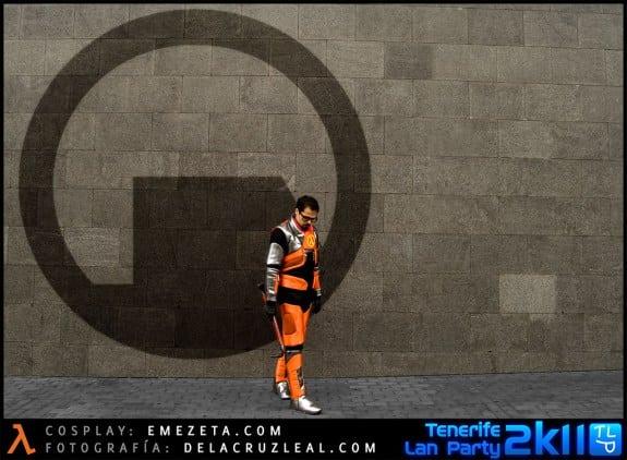 Black Mesa: Cosplay del personaje Gordon Freeman (Half-life)
