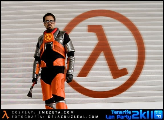 Freemanz: Cosplay del personaje Gordon Freeman (Half-life)