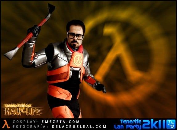 Xen: Cosplay del personaje Gordon Freeman (Half-life)