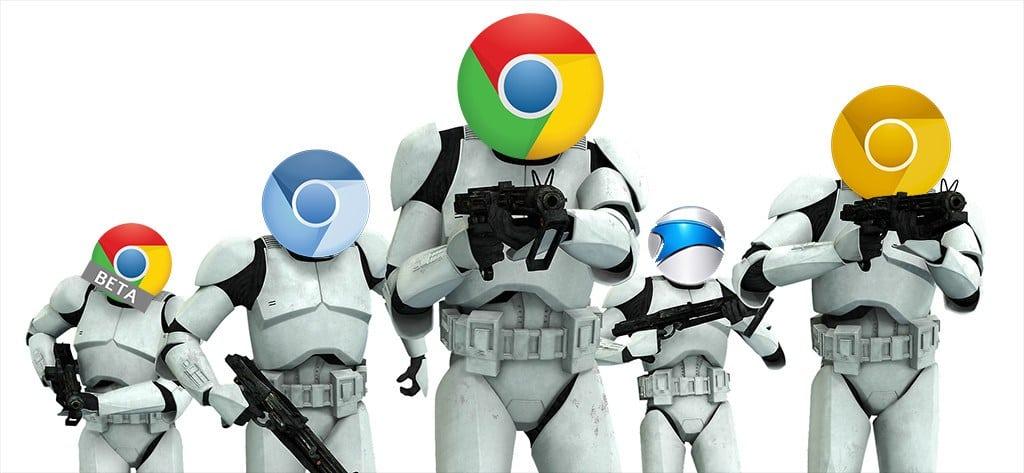 Browser wars: El ataque de los Chromes