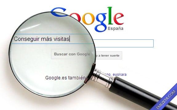 Guía de posicionamiento en Google: Conseguir más visitas en Google
