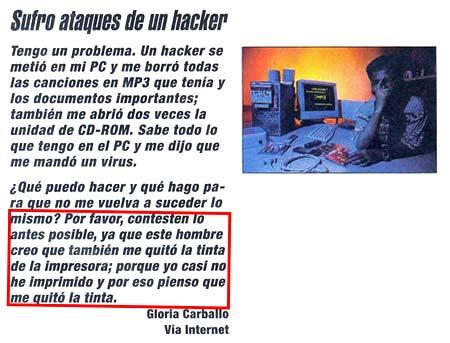 hacker roba tinta impresora