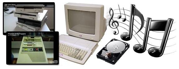 Dispositivos electrónicos (hardware) que producen música.