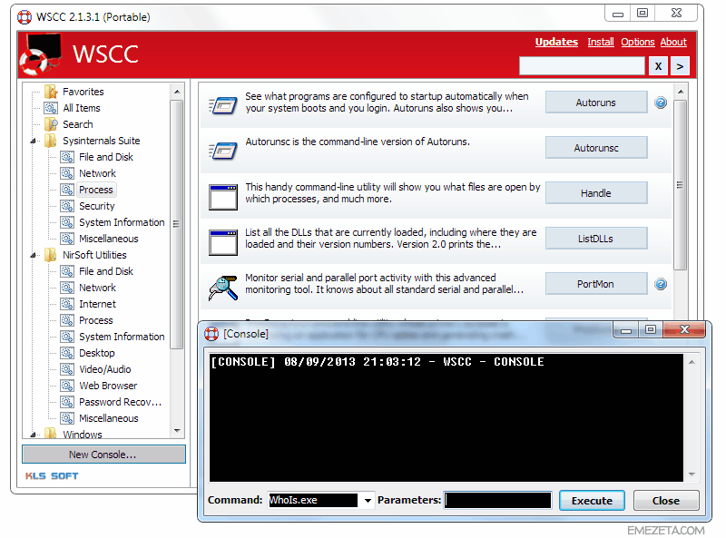 WSCC: Windows System Control Center