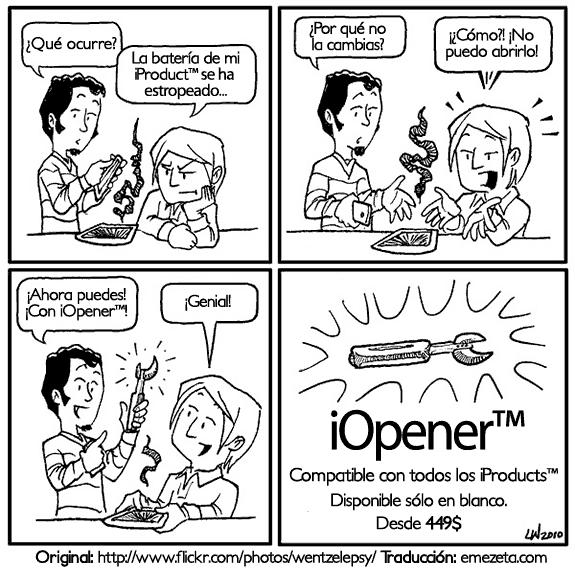 iOpener: Compatible con todos los iProducts