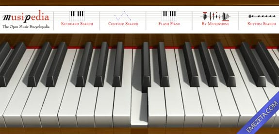 Identificar canciones: Musipedia