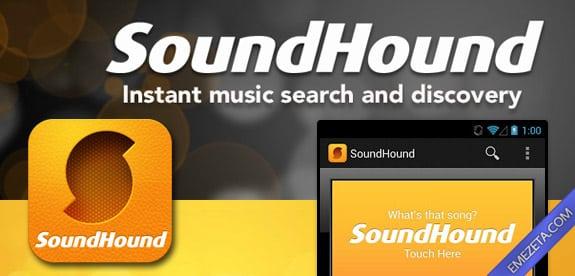 Identificar canciones: Sound hound