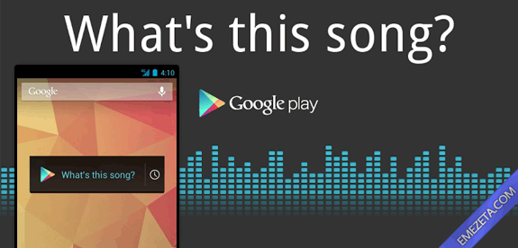 Identificar canciones: Sound search what this song