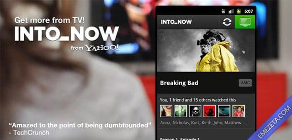 Identificar canciones: Yahoo intonow