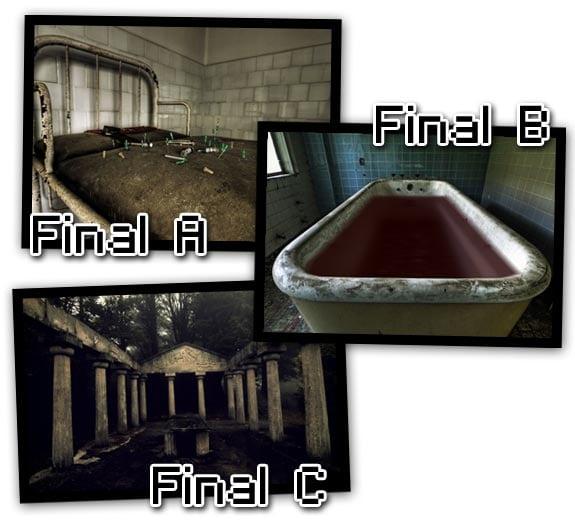 Innocent Hill 4 (2011): Finales alternativos