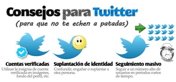 Herramientas y aplicaciones para Twitter: Consejos twitter
