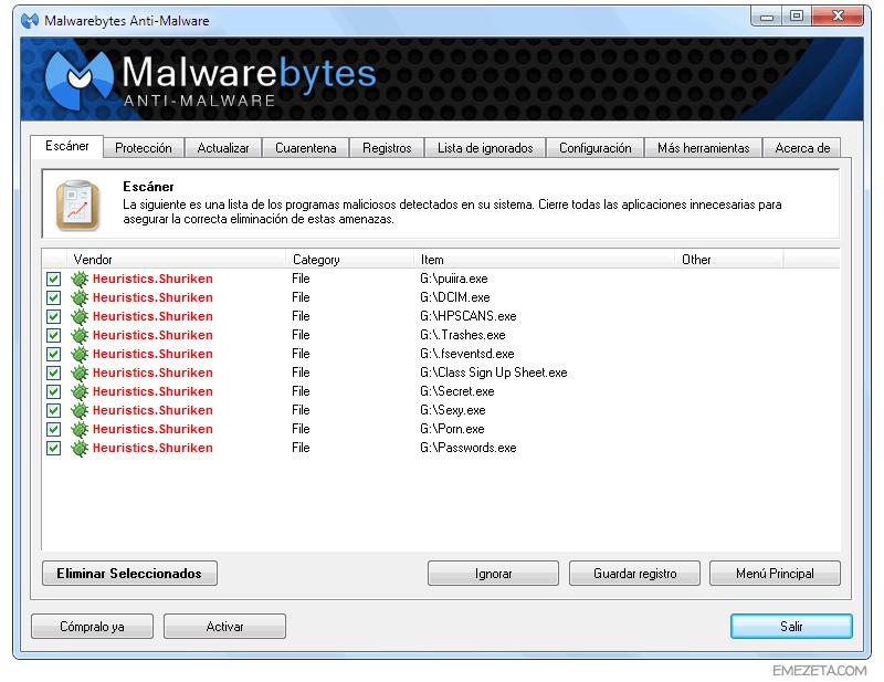 Malwarebytes: Un excelente programa para eliminar malware