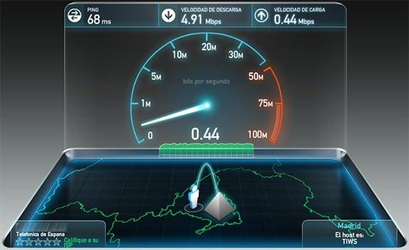 SpeedTest: Test de velocidad para medir nuestra conexión a Internet