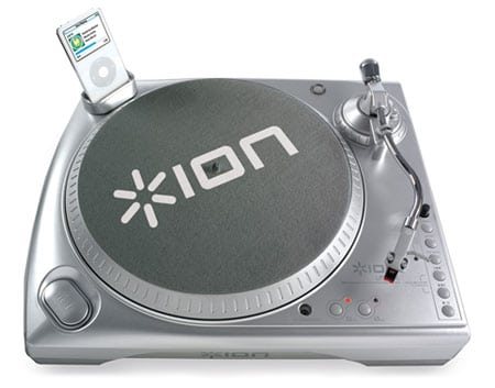 ion turntable ipod tocadiscos usb