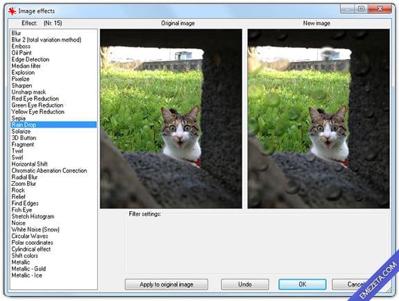 Editar imágenes con IrfanView: Efectos para imágenes