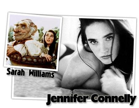 jennifer connelly sarah williams dentro del laberinto david bowie