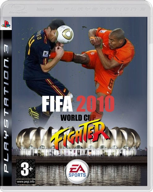nigel de jong xabi alonso FIFA World Cup 2010 Fighter