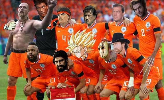 nigel de jong xabi alonso Holanda Team