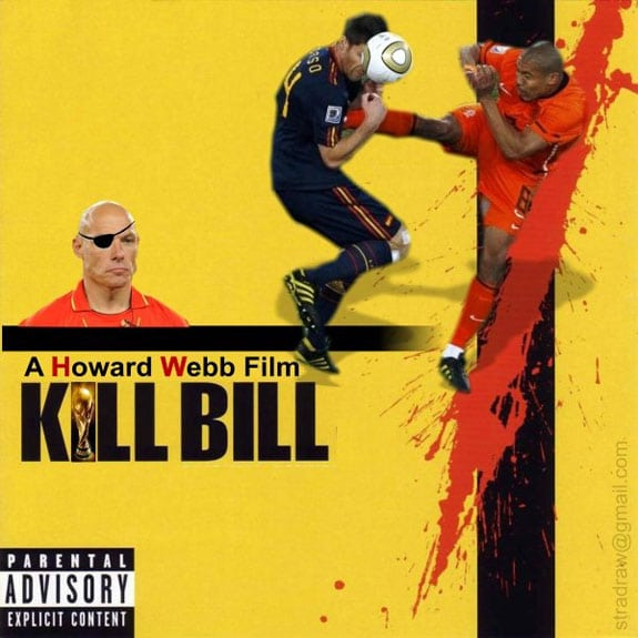 nigel de jong xabi alonso kill bill