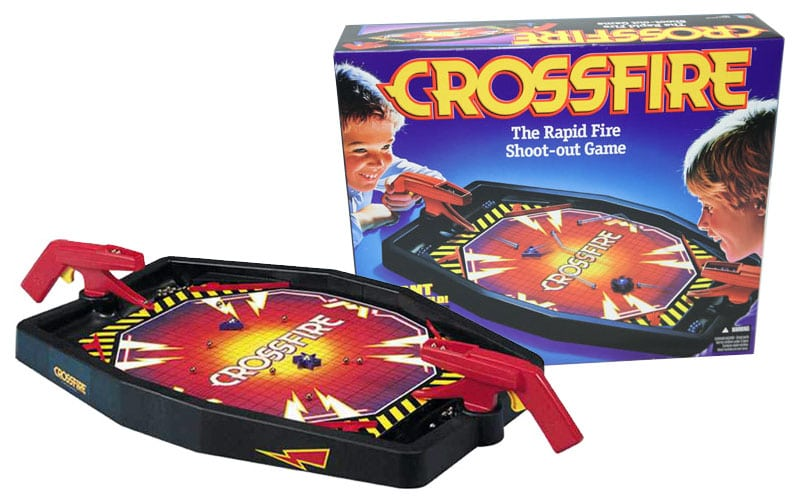 Crossfire: La adicción del Air-Hockey mezclado con el frenesí de un juego rápido