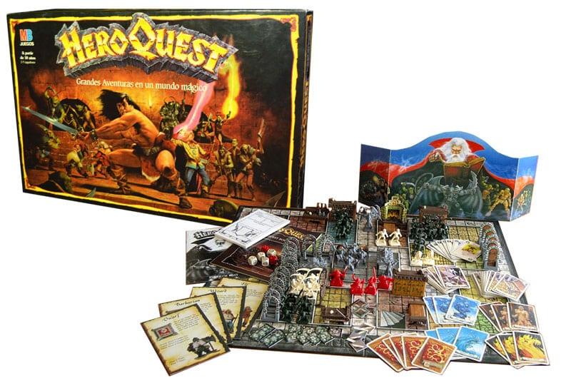 HeroQuest: La dulce entrada al mundo del rol...