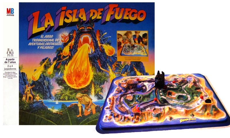 La isla de fuego: El juego para los más aventureros