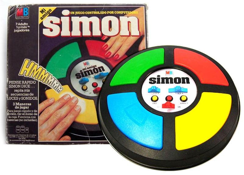 Simón dice... ¿Conseguiste alguna vez pasar de los 15 ó 20 movimientos?