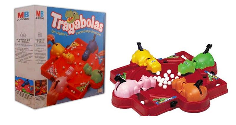 Tragabolas: Nadie quería quedarse nunca con el hipopótamo rosa.