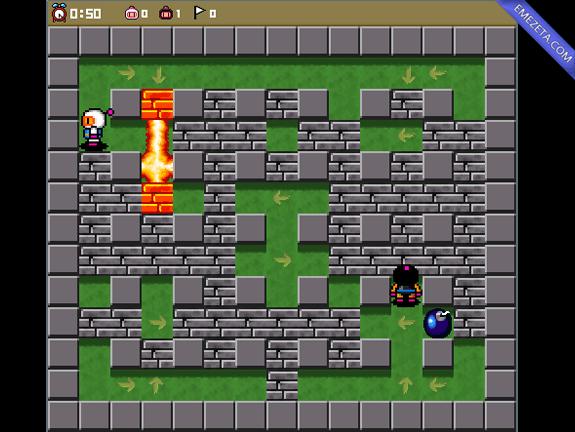 Bombermaaan, juego open source clon de Bomberman (DynaBlaster)