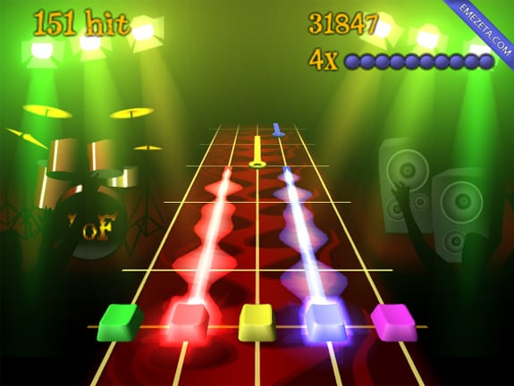 Frets on fire, juego open source clon de Guitar Hero
