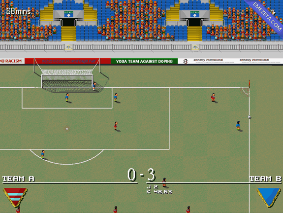 Yoda soccer, juego clon open source de Sensible Soccer