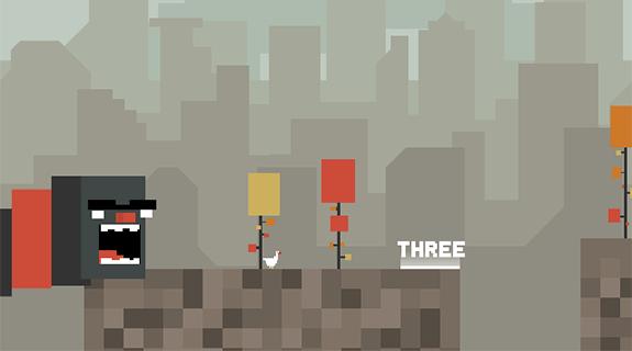 chase goose 2 juego flash retro 8 bits pixel