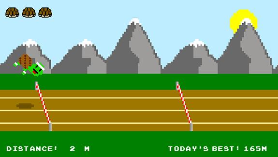 juego flash retro 8 bits pixel