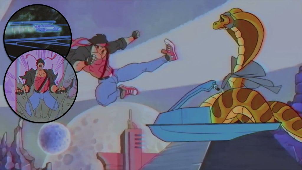 Tributo a los dibujos animados de los 80